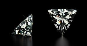 Trillion Cut Diamond Stock Image