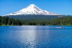 Trillium湖 库存图片