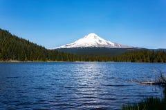 Trillium jezioro w Oregon Obrazy Stock
