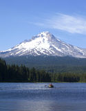 Trillium Lake and Mt. Hood OR. Royalty Free Stock Image