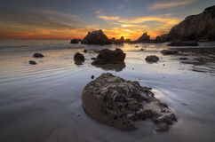 Trilobite-Felsen an EL Matador stockbild