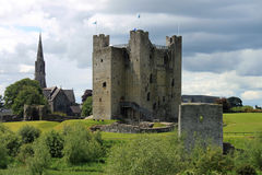 Trim Castle. Medieval Trim Castle in County Meath, Ireland Stock Photography