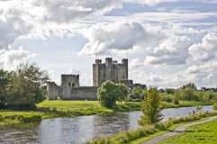 Trim Castle. In the Irish Town of Trim , county Meath Southern Ireland stock photos