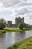 Trim Castle. On the river Boyne County Meath Southern Ireland royalty free stock images