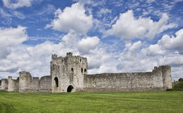 Trim Castle. Used to be the home of the ruler of Ireland before they moved to Dublin Castle Stock Photography