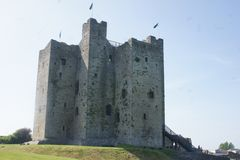 Trim Castle. It is difficult to comprehend the historical and architectural importance of Trim Castle without a personal visit. Trim Castle is a fantastic stock images