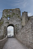 Trim Castle Gatehouse. Used as one of the locations for the Film 'Braveheart'. In the Irish town of Trim in county Meath Southern Ireland royalty free stock photography