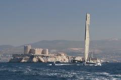 trimaran sailing gitana 12 Стоковая Фотография RF