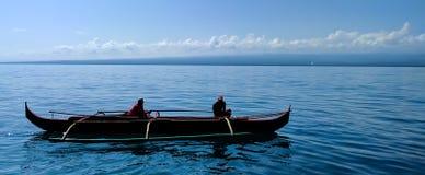 Trimarano tradizionale Fotografie Stock