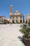 Trimartiri ortodox cathedral Chania Royalty Free Stock Images