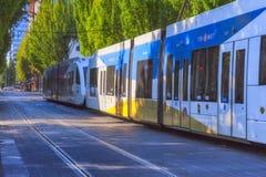 TriMet Max Train Portland Oregon Imagen de archivo libre de regalías
