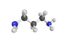 Trimethylenediamine, verwendet als Katalysator und Reagens im polymeriz lizenzfreies stockfoto