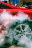Trimma bilen på EMMA 2013 i Lviv Royaltyfria Bilder