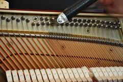 trimma för piano Fotografering för Bildbyråer