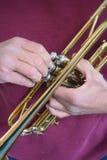 trimma trumpeten Royaltyfri Bild