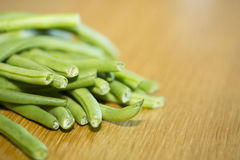 Trimmed Beans Stock Photos