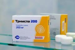Trimpspa 200 per il mercato ucraino Immagine Stock Libera da Diritti