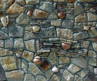 从trimstones的篱芭 库存图片