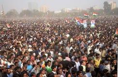 Trinamool Congress Mammoth Brigade Rally. Royalty Free Stock Image