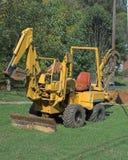 Trincheiras de escavação Fotografia de Stock Royalty Free