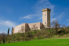 Trinci castle near Foligno Stock Photos