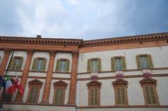 Trinci slott. Foligno. Umbria. Italien. royaltyfri foto