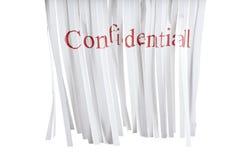 Trinciatrice confidenziale Fotografia Stock
