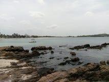 Trincomalee havskust fotografering för bildbyråer