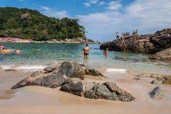 Trindade Beach Rio de Janeiro Stock Image