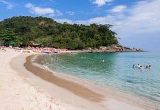 Trindade Beach Sao Paulo Stock Image
