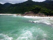Trindade-Insel Paraty Stockfoto