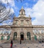 Trindade kyrka Neoclassical arkitektur för 19th århundrade Royaltyfria Bilder