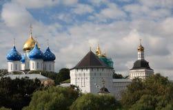 Trindade Lavra de Saint Sergius em Sergiev Posad Imagens de Stock Royalty Free