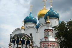 A trindade Lavra de St Sergius em Sergiev Posad Fotografia de Stock