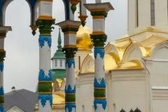 A trindade Lavra de St Sergius Sergiev Posad, Rússia Imagem de Stock