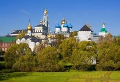 Trindade Sergius Lavra em Sergiev Posad, Rússia fotos de stock
