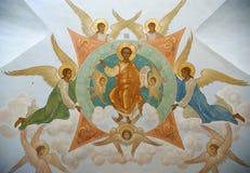 Trindade Sergius Lavra em Sergiev Posad. Russo Fotos de Stock Royalty Free