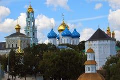Trindade Sergius Lavra, Sergiev Posad, Rússia Mundo Herit do UNESCO Fotografia de Stock Royalty Free