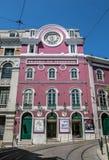 Trindade-Theater in Lissabon lizenzfreies stockbild