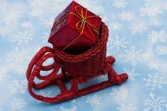Trineo de Santas Imagen de archivo