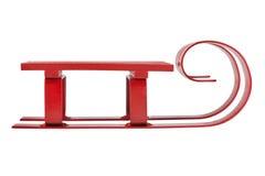 Trineo rojo Imágenes de archivo libres de regalías