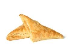 Triángulos de los pasteles Imagen de archivo libre de regalías