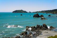 Trinidad bay, California, USA Stock Images