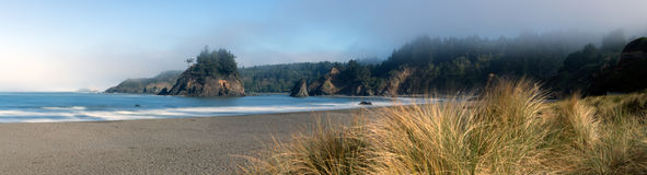 Trinidad Beach Pano Royalty Free Stock Images