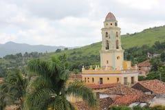 Trinidad Church and Belltower, Cuba. Stock Image