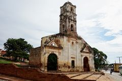 Trinidad City Cuba Caribbean Kuba Sancti Spiritus imagens de stock royalty free