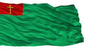 Trinidad City Flag, Bolivia, isolata su fondo bianco Royalty Illustrazione gratis
