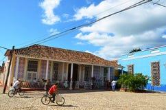 Trinidad colonial, suas ruas e povos, Cuba Imagens de Stock Royalty Free