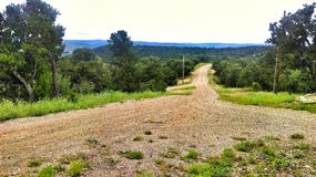 Trinidad Colorado Mountaintop Road stockfoto