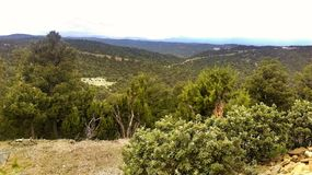 Trinidad Colorado Mountaintop View royaltyfri bild